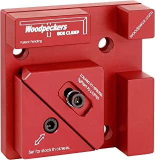 product image for Woodpeckers Precision Woodworking Tools Aluminum Box Clamp Single Clamp