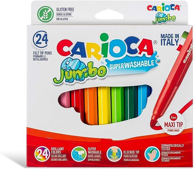 Carioca A52100018 - Pack de 18 rotuladores: Amazon.es: Oficina y papelería