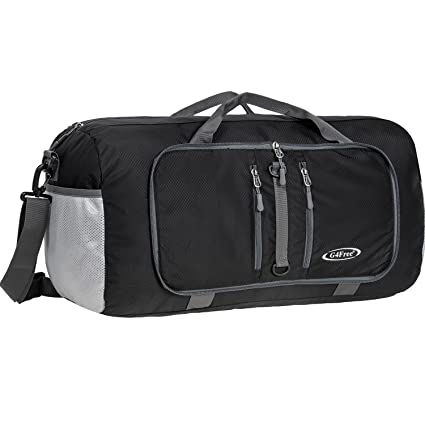 efbf59f5d6 Amazon.com  G4Free Foldable Travel Duffle Bag Lightweight 22 Inch ...