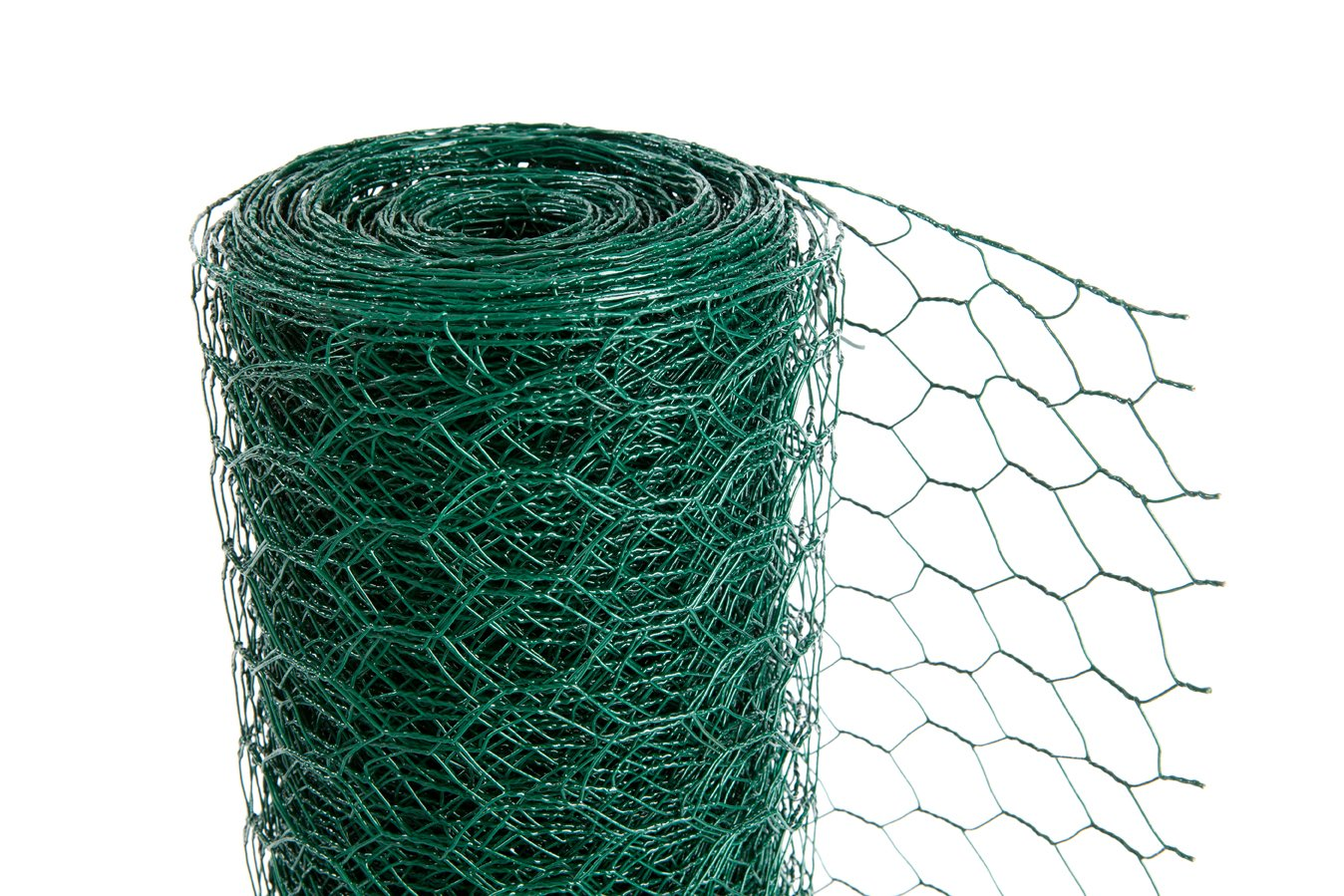 Easipet PVC Green chicken Wire 50mm x 600mm high x 25m (535)