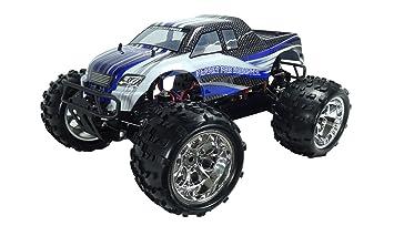 Amewi 22236 Fahrzeug Monster Spiel, Blau/Weiß/Schwarz