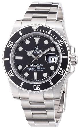 check out 9594f 89c40 Amazon | [ロレックス] 腕時計 116610LN メンズ 並行輸入品 ...