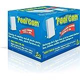 Toucan Pool gom éponges lustrantes Boîte de 5 Bleu