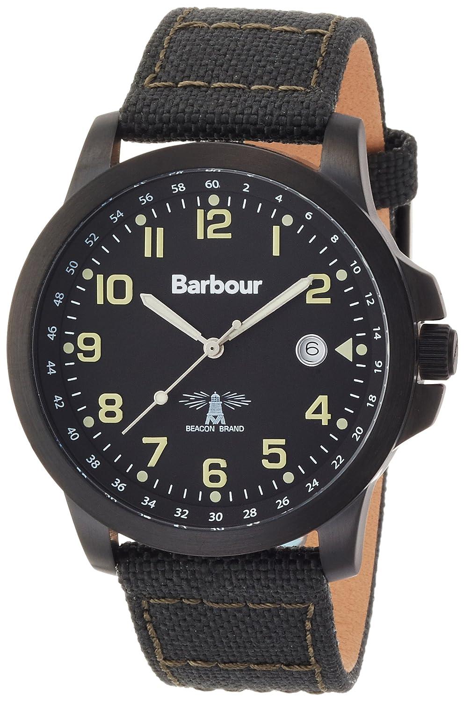 [バブアー]Barbour 腕時計 カレンダー キャンバスストラップ BB020GNGR メンズ 【正規輸入品】 B00NPCU53M