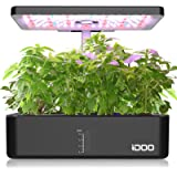 iDOO 12Pods Indoor Herb Garden Kit, Hydroponics Growing System with LED Grow Light, Smart Garden Planter for Home…