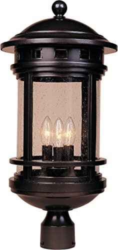 Designers Fountain 2396-ORB Sedona Post Lanterns, Oil Rubbed Bronze