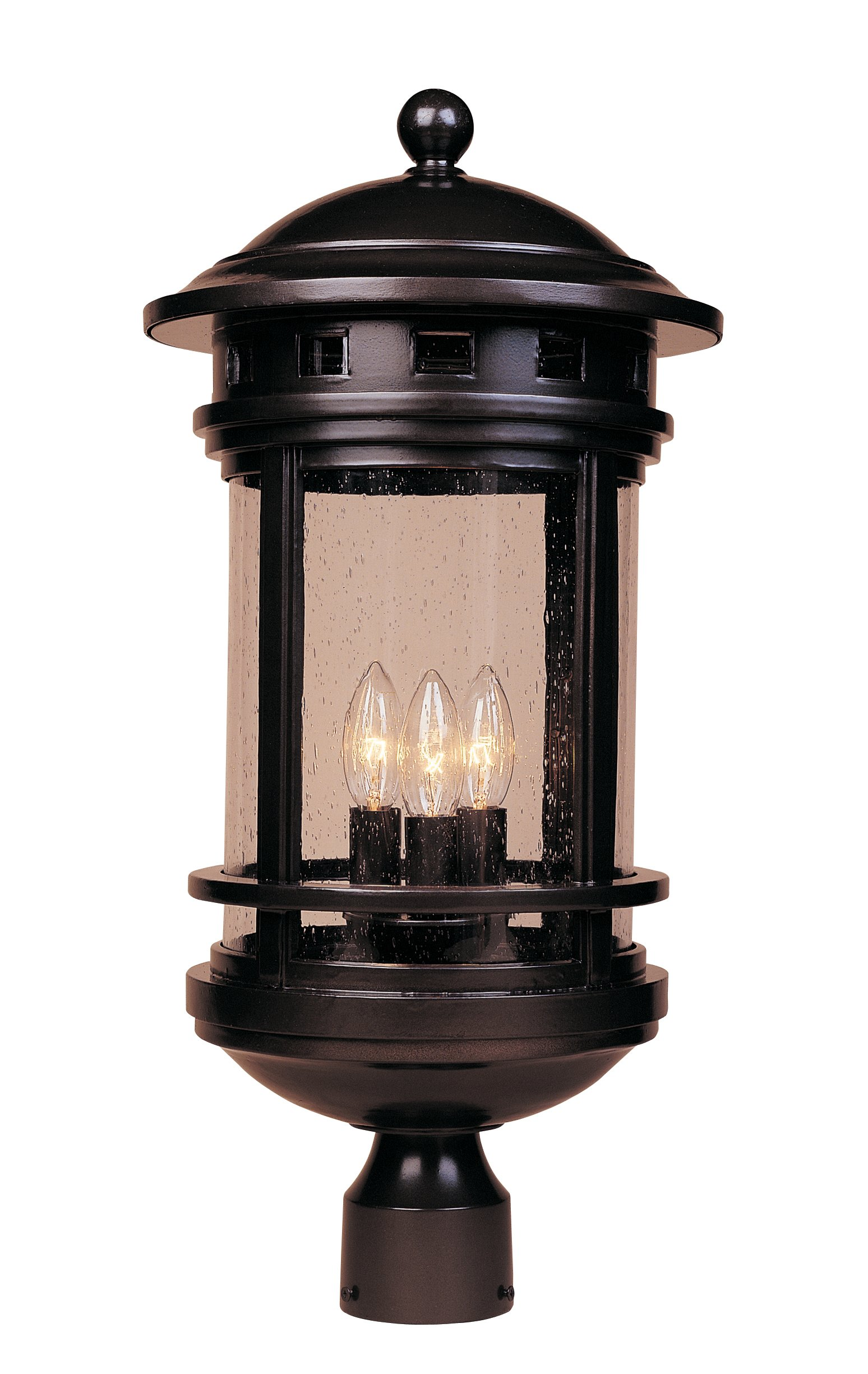 Designers Fountain 2396-ORB Sedona Post Lanterns, Oil Rubbed Bronze