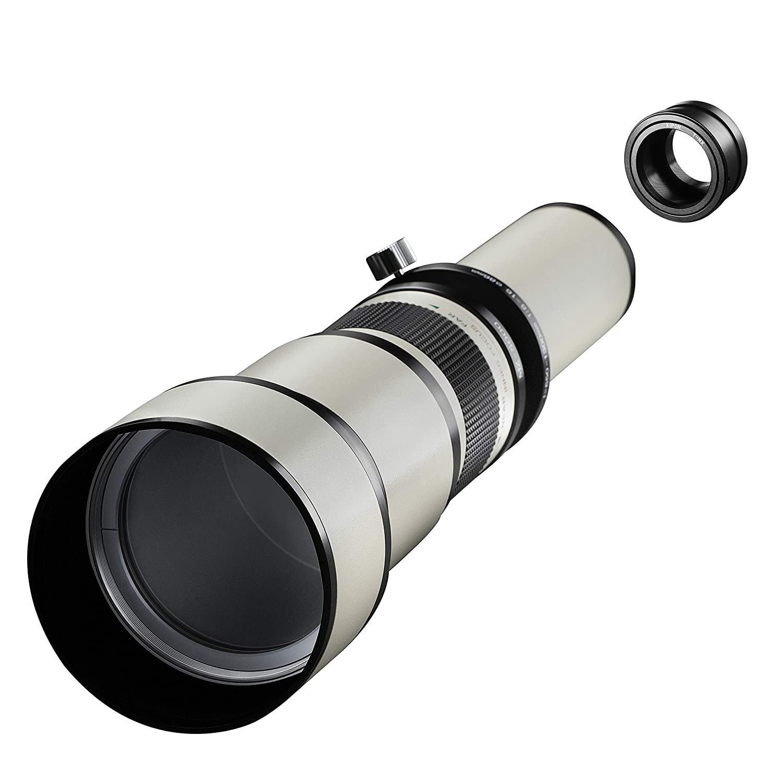 Samyang MF - Cámara réflex Digital (650-1300 mm, F8.0-16.0 ...