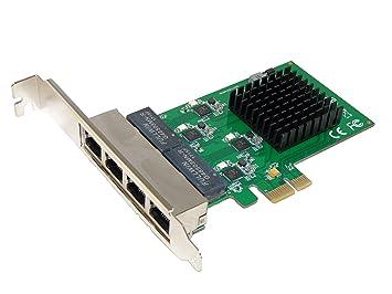 Tarjeta de red Gigabit Ethernet PCI Express 10/100/1000 Mbps ...