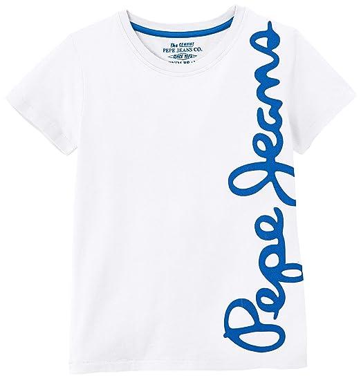 Pepe Jeans Waldo Short Camiseta para Niños: Amazon.es: Ropa y ...