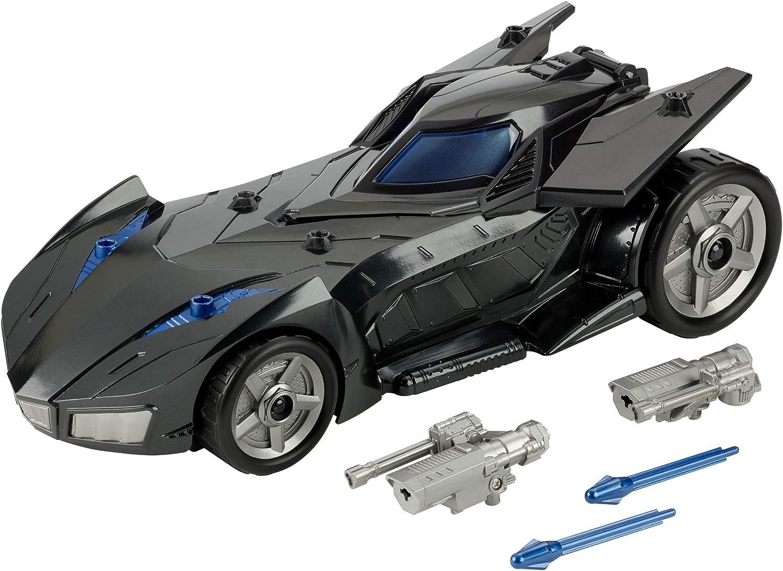 DC BATMAN MISSIONS™ Coche Batmóvil Misiles de Ataque (Mattel FVM60)