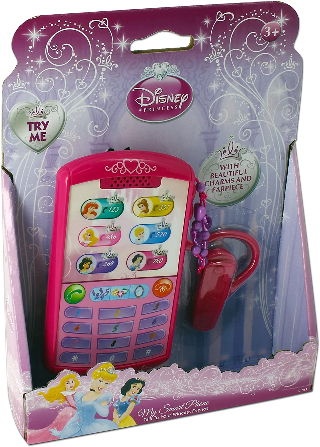 KD Toys Inspiration Works Disney Princess Smartphone