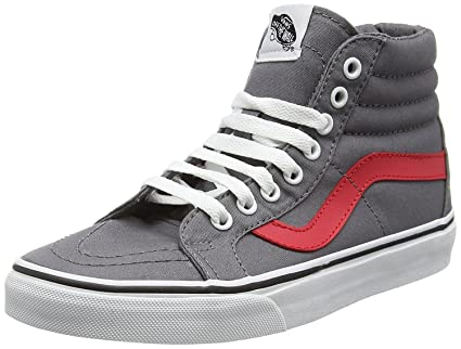22898ade11 Buy Vans Unisex Sk8-Hi Reissue (Canvas) Skate Shoe Online at Low Prices in  India - Amazon.in