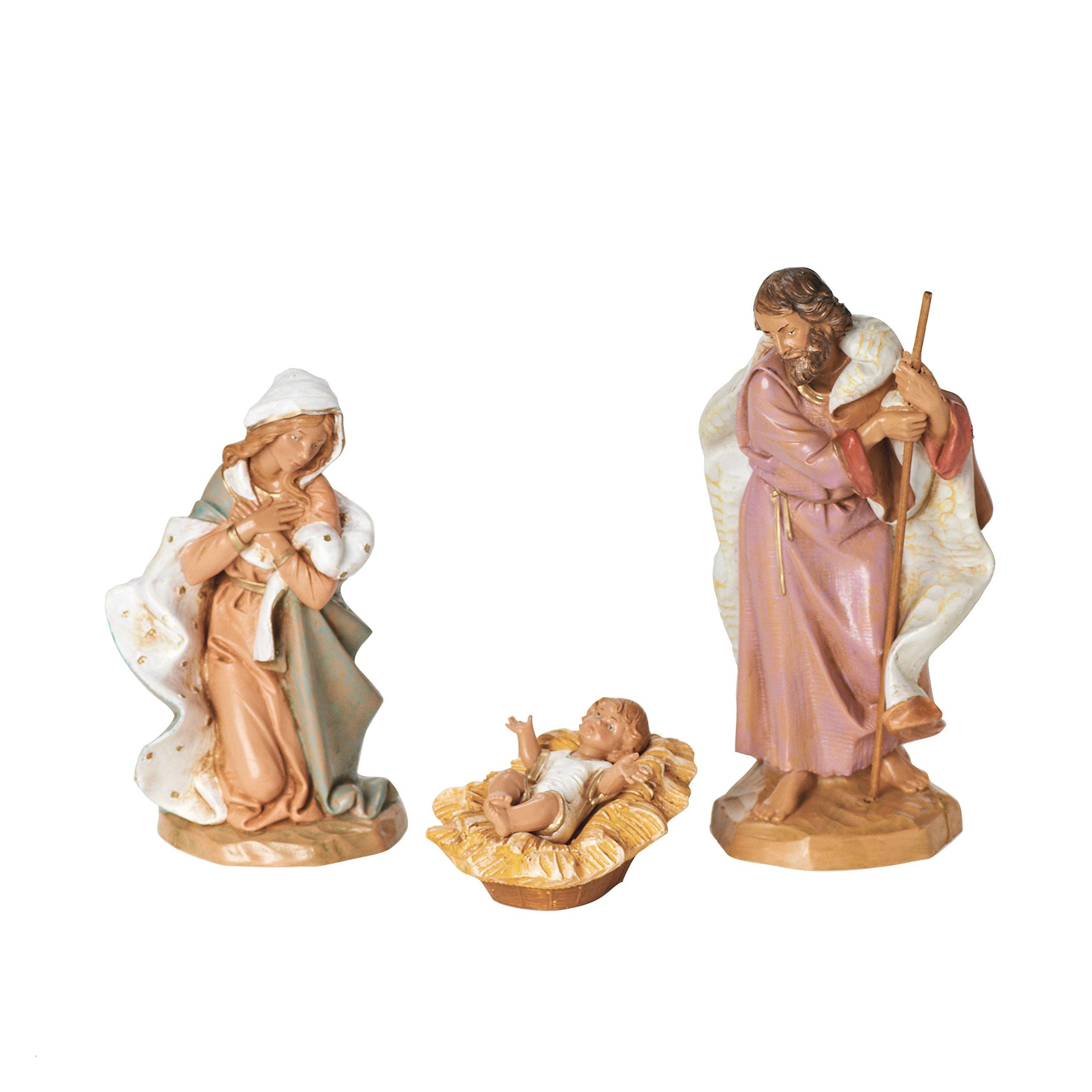 Fontanini by Roman Holy Family 3-Piece Nativity Set, 7.5-Inch