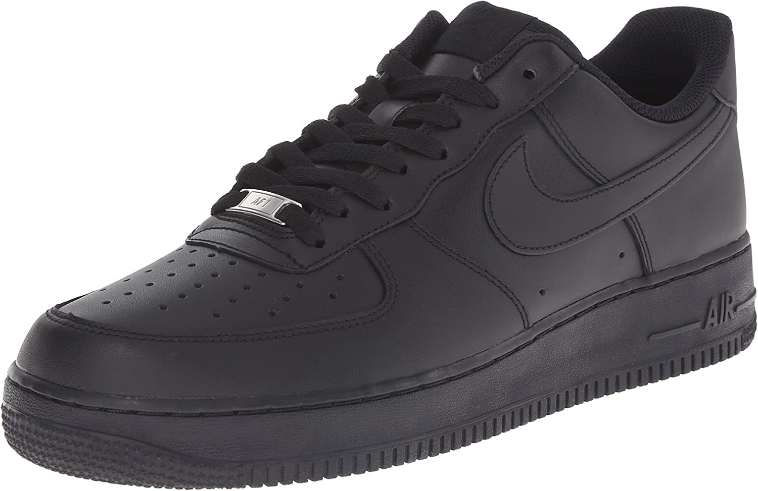 Nike Herren AIR Force 1 '07 Sneakers, Schwarz, Eu
