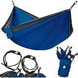 Legit Camping - Double Hammock - Lightweight Parachute Portable Hammocks for Hiking, Travel, Backpacking, Beach, Yard…