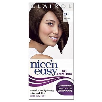 Amazon.com   Clairol Nice  n  Easy By Lasting Colour 82 Dark Warm ... df5c69b9f23d