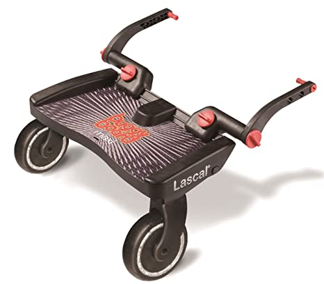 Lascal Buggy Board Maxi Black - Plataforma para carrito