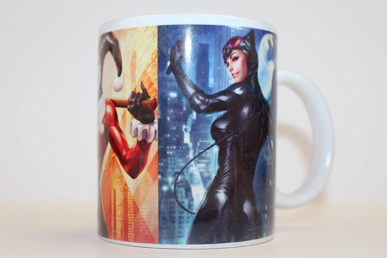 DC Comics Catwoman Ceramic Coffee Mug Cup New in Box