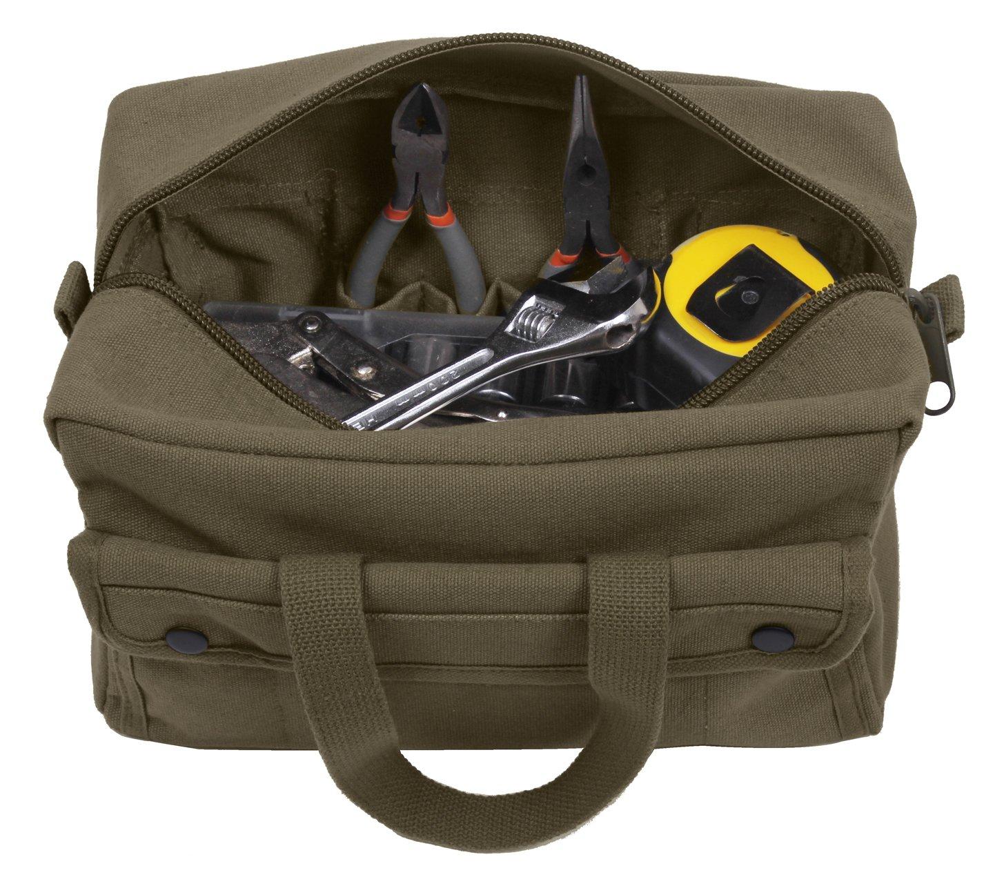 Rothco G.I. Type Mechanics Tool Bags, Olive Drab