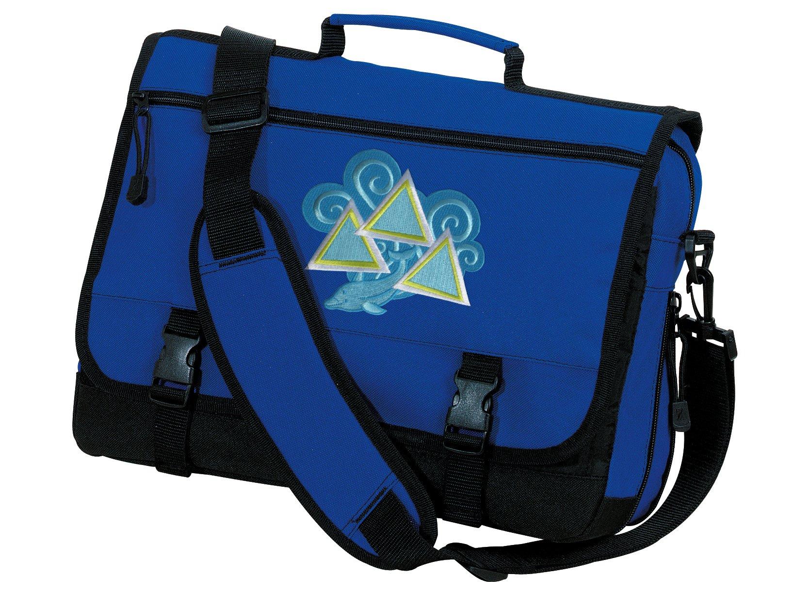 Tri Delt Sorority Laptop Bag Tri Delt Messenger Bags
