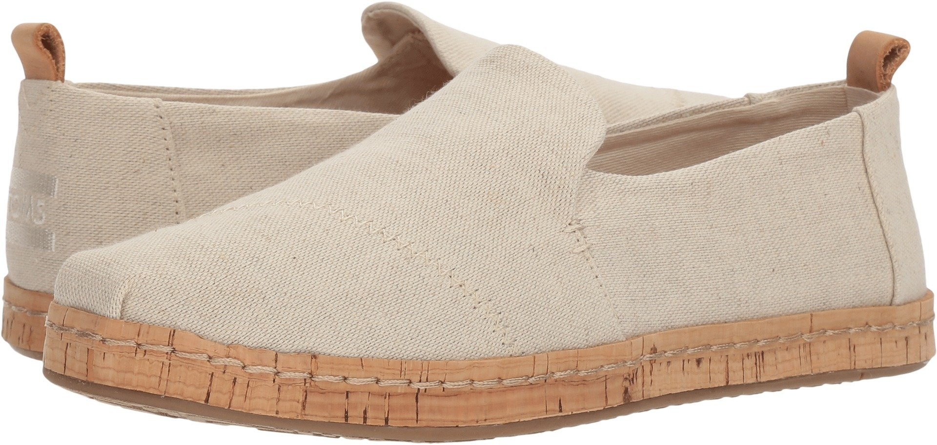 TOMS Women's Deconstructed Alpargata Natural Hemp 7 B US