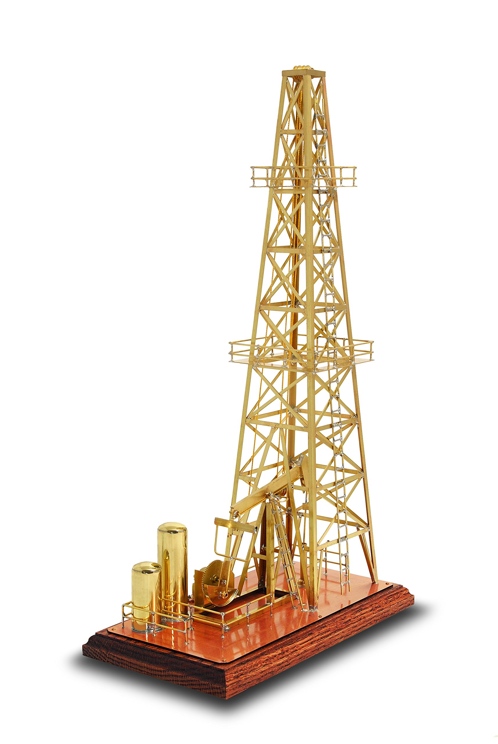 Solarts Oil Derrick OD-8 - Solar Powered Model/Executive Gift by Solar Made (Image #2)