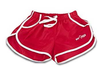 Amazon.com: Big Red Apparel - Micro Stretch Gym/Fitness Shorts RED ...