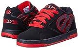 Heelys Propel Skate Shoe , Black/Red, 3 M US Little