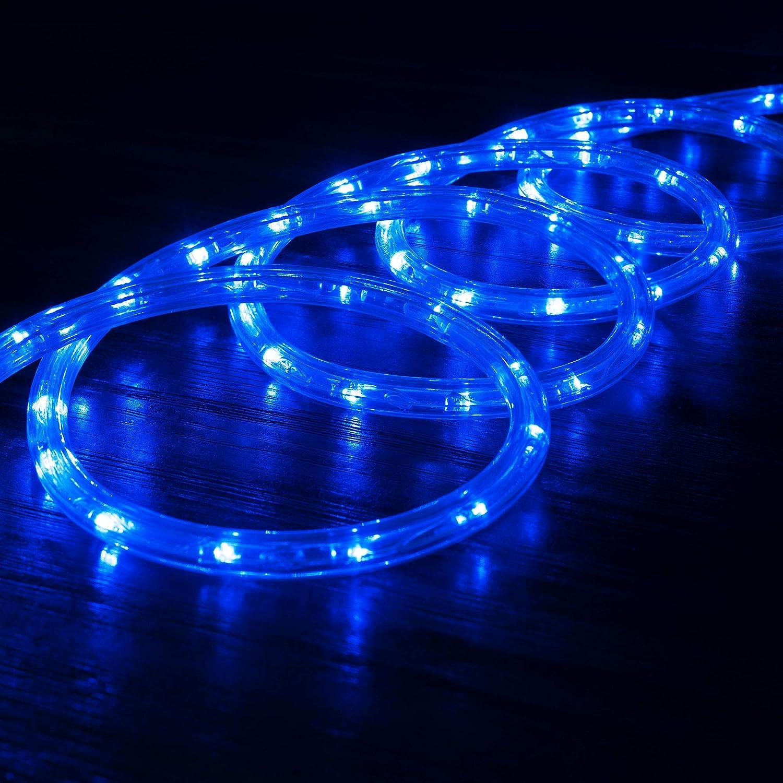 Amazon.com: WYZworks luces de cuerda LED azul - 2 luces de ...