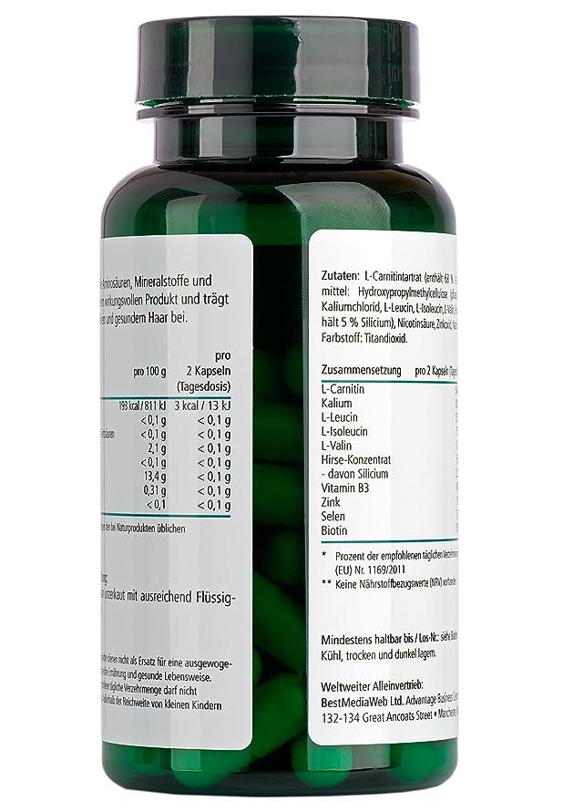 HAIROXOL-Cápsulas tratamiento anti-caída de cabello | Bitoina, Zinc, vitaminas, Selenio, L-Carnitina | Crecepelo | crecimiento capilar en hombres y ...