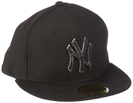 New Era Gorra York Yankees Suede Diamond Gris Black/Gray Talla ...