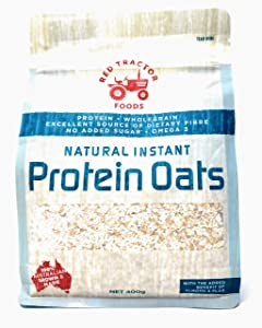Red Tractor Foods, Natural Instant Protein Oats, 15 oz. Resealable Bag