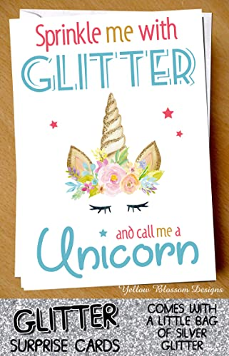 Funny GLITTER Card Birthday Friend Annoying Gift Mum Dad Sister Brother Surprise