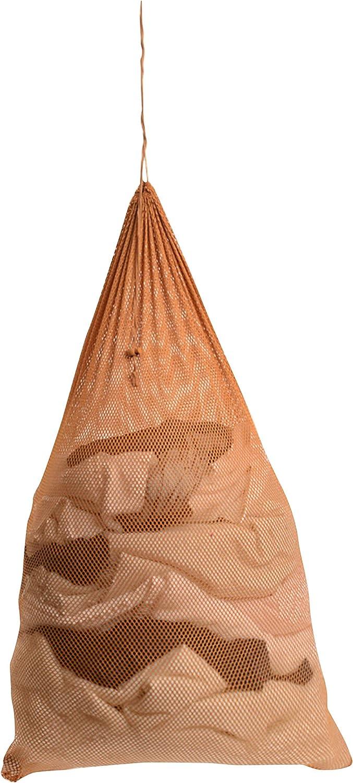 "M&S Gifts Premium Heavy-Duty Mesh Laundry Bag - Clothes Hamper w/Drawstring - Home & College Essentials Camel (36""x24"")"