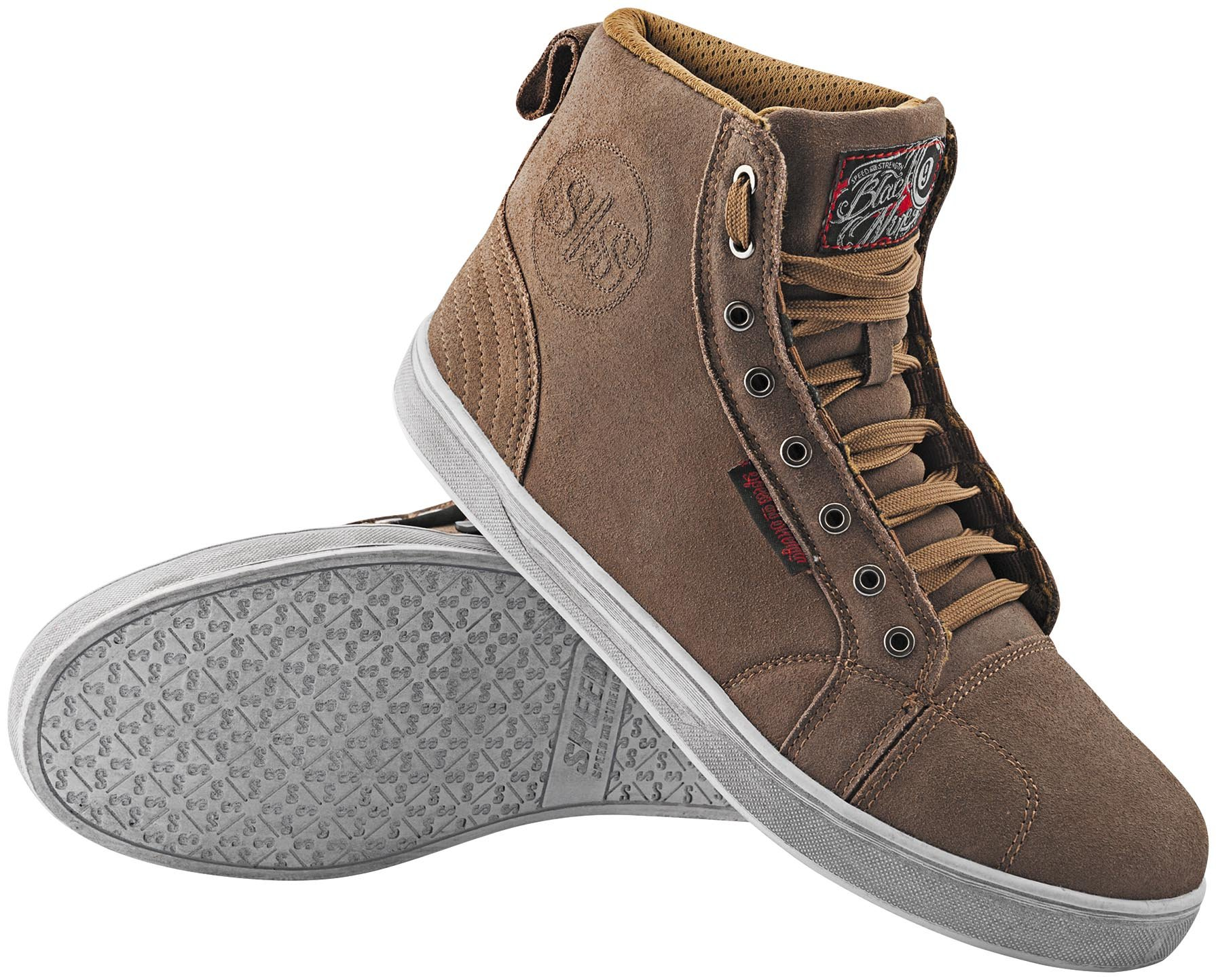 Speed & Strength Black Nine Moto Shoe (13) (Tan)