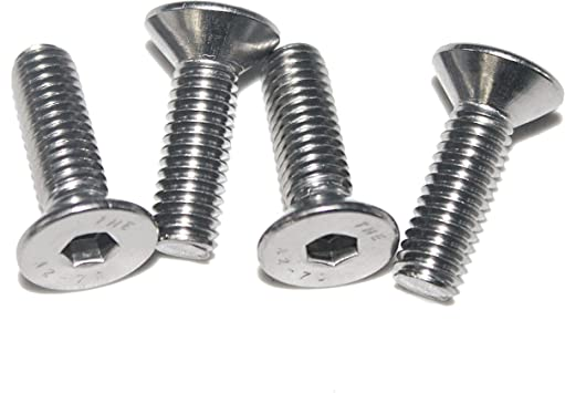 Quantity 50 1//4-20 Socket Head Cap Screws,5//8 Long Stainless Steel 18-8 Full Thread Plain Finish,by Fullerkreg
