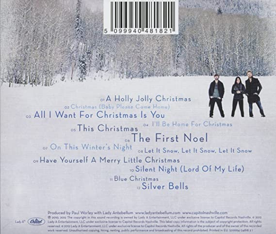 lady antebellum on this winters night amazoncom music