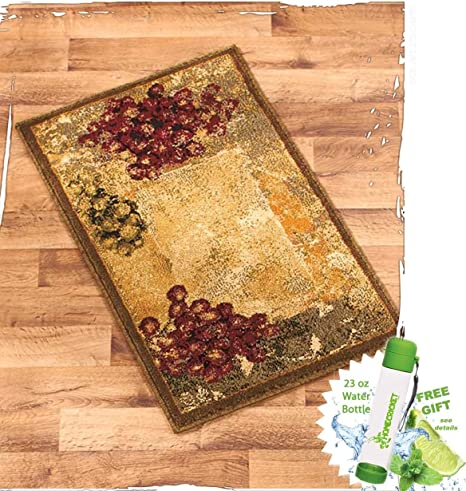 Amazon Com Gift Included Vineyard Themed Decorative Kitchen Jute