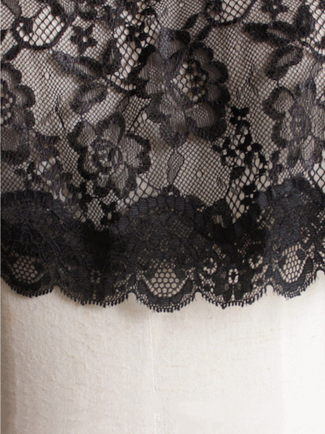 Women's Lace Tulle Shawl Wrap Evening Cap for Bride Bolero Shawls,Champagne by MisShow (Image #3)