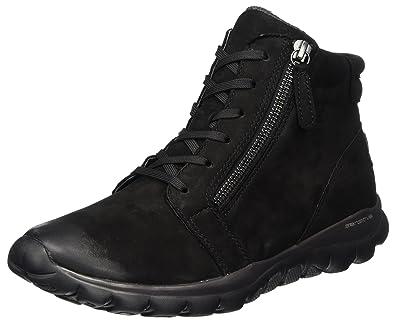 327bcac2f6367 Gabor Shoes Women's Rollingsoft Boots, Black (47 Schwarz Mel 4 UK