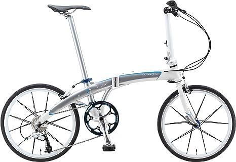Dahon Mu Sl10 Gris 10-Bicicleta plegable, color plateado y blanco ...