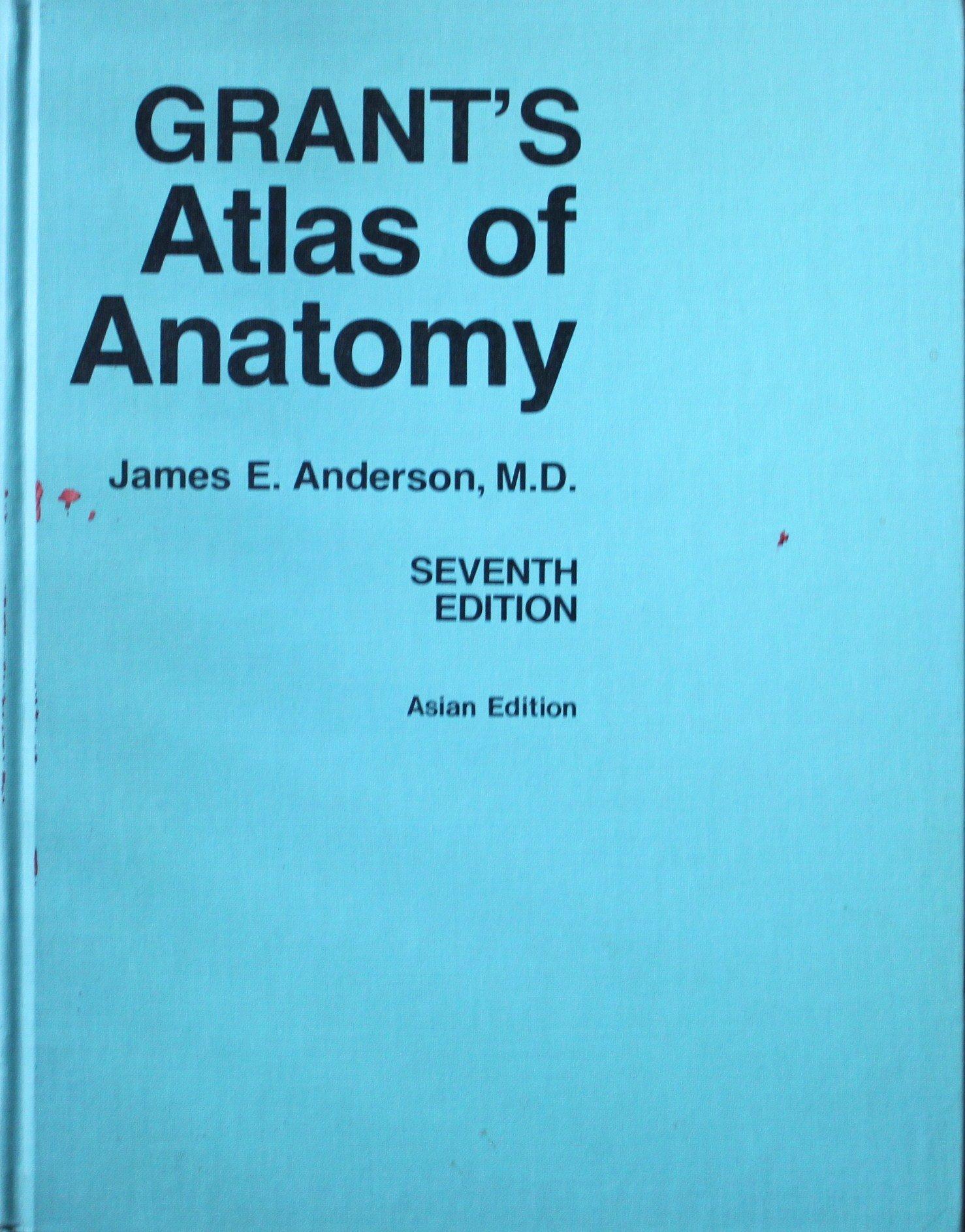 Grant\'s Atlas of Anatomy: ANDERSON: 9780683002126: Amazon.com: Books