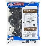 Fi-Shock IWTPLB-FS Black Pin-Lock Wood and T-Post Insulator