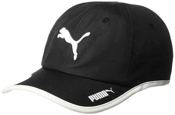 online store 6761a abac0 PUMA Women s Evercat Greta Running Adjustable Cap, Black White One Size