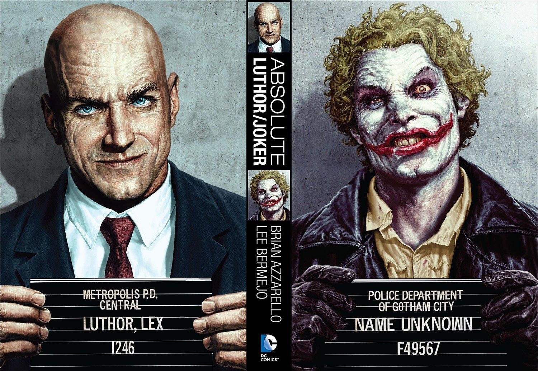 Amazon com: Absolute Luthor/Joker (9781401245047): Brian Azzarello