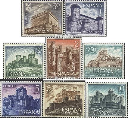 Prophila Collection España Michel.-No..: 1699-1706 (Completa.edición.) 1967 Castillos (Sellos para los coleccionistas): Amazon.es: Juguetes y juegos