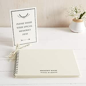 Grande livro de memórias luxuoso de 30, 48 x 20, 32 cm e