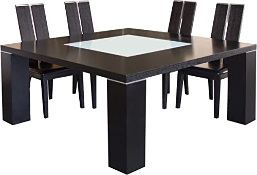 Sharelle Furnishings Elite Wenge Square Dining Table