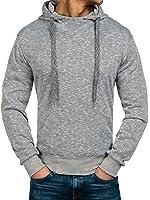 BOLF – Sweat à capuche – Sweatshirt – Pullover – Hoodie – Classic – Homme [1A1]